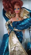 1992 Barbie Doll BENEFIT BALL Classique Collection Redhead NRFB 01521 1st in ser