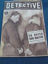 Détective 1948 103 CROUTTES OINVILLE SPOY ARGANçON COLMAR