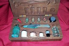 Aztek Airbrush A4709 Set Model Painting Gun Kit Double Action Artists Paint Art
