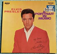 Elvis Presley A Portrait In Music 1973 Original Vinyl Album Rare German Import
