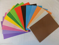 Eva Foam Sheets A4 - Choice of Colours & Quantities Childrens crafts UK Seller