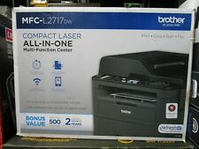 Brother Compact Laser All-in-One Multi-Function Center MFC-L2717DW BRAND NEW