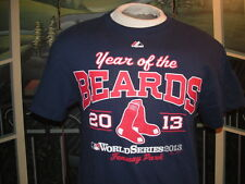 BOSTON RED SOX(Year of the Beards)2013 W.S. Fenway Park T-SHIRT.Med.MajesticLQQK