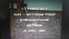 Ajax Amsterdam 1-0 Nottingham Forest 23-4-1980 EC1 1/2 final Krol Francis on DVD