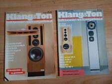 Klang und Ton -  Klang & Ton, Lautsprecher Selbstbau Magazin 1986 - 2 Stück !!!