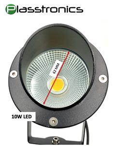 2X 10W LED hood Landscape Lighting outdoor garden large warm White 12V light