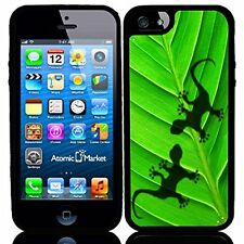 Gecko Shadows On Leaf For Iphone 6 Case Cover