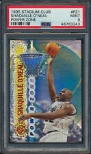 46763243 1995 Topps Stadium Club Power Zone PZ1 Shaquille O'Neal PSA 9 MINT HOF