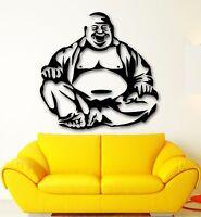 Wall Sticker Vinyl Decal Laughing Buddha Buddhism Religion Meditation (ig2094)