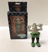 "Wallace & Gromit Metal Digital Clock ""Wallace In Wrong Trousers"" By Mayhem. New!"