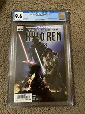 STAR WARS: THE RISE OF KYLO REN #3 CGC 9.6 WHITE PAGES   1ST APP AVAR KRISS