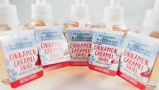 (5) Bath & Body Works Cinnamon Caramel Swirl Wallflower Fragrance Refill 0.8oz