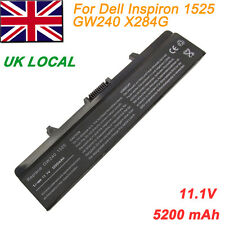 6 Cell Laptop Battery for Dell GW240 RN873 X284G Inspiron 1525 1526 1545 1546