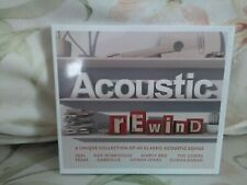 Acoustic Rewind - Various Artists - (2016) - 2CDs - New / sealed - Free uk Post