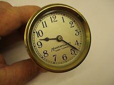 Vintage Minneapolis Honeywell Brass Clock model 77  8 - Day 7 - Jewel CAR ?