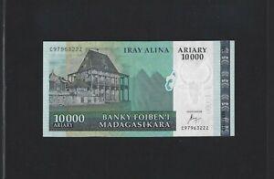 MADAGASCAR 10000 10.000 ARIARY ND 2015 P-New  UNC COMORES COMOROS