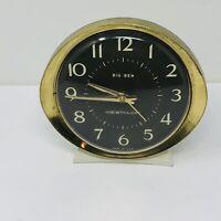 Vintage Westclox Big Ben Windup Alarm Clock Tested Working Made In USA 53647