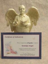 Statue D'ange Grand-père Ange gardien Statuette Sculpture - Limité Édition 20224