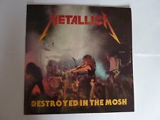 METALLICA DESTROYED IN THE MOSH LIVE NEW YORK 04 BLACK VINYL LP NEW UNPLAYED