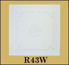 Tin-Look Ceiling Tiles Easy Installation - R43W Sale!!