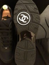BRAND NEW AUTHENTIC CHANEL MENS SNEAKERS BLACK SIZE 41 LIMITED SOLD OUT