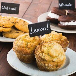 Chalkboard Buffet Label Food Picks-Party Supplies-Weddings Organize Home--2 Pkgs