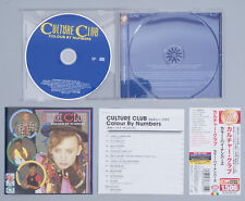 Culture Club Colour By Numbers Japan CD Virgin ‎TOCP-54217 Obi Remastered 2010