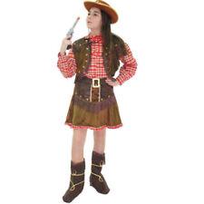 Vestito Costume Cow Girl 5/6 anni Carnevale Pegasus Party Cow Boy