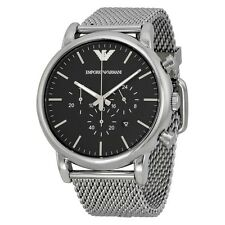 NEW GENUINE EMPORIO ARMANI AR1808 STAINLESS STEEL METAL BRACELET MEN'S WATCH UK