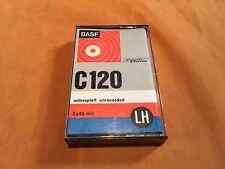 1 x basf C 120 SM LH cassette, IEC I/normal position, buen estado, very rare