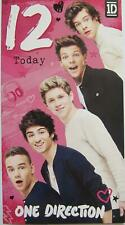 ONE DIRECTION 12 TODAY 12TH BIRTHDAY CARD NEW GIFT