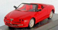 SOLIDO 1999 Alfa Romeo Spider (Red) Open Top 1/43 Scale Diecast Model NEW, RARE!