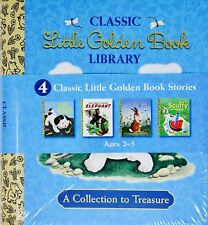 Classic Little Golden Book Library: 4 Book Box Set Hardcover – 2016
