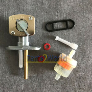 Fuel Tank Switch Valve Petcock FOR Kawasaki EN450 454 LTD EN500 EN450 EX500 500R