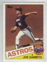 1985 Topps Baseball Houston Astros Team Set