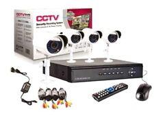KIT VIDEOSORVEGLIANZA DVR 4 CANALI +CAM LED INFRAROSSI
