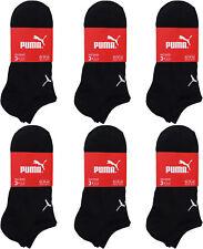 3-18 Paar Herren Puma Sneaker Socken  Basic Sneakersocken schwarz 39-49