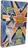 2001 Topps Stars Baseball Card Box Hall of Famers Auto