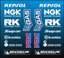 CBR 1000 RR SC57 04-07 Lower Cowl Sponsor Stickers Decals HONDA BellyPan Fairing