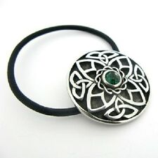 Irish Pewter Celtic Triquetra Hair Bobbin