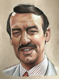 Boycie OFAH Original Drawing . Fan-ART A4 Only Fools And Horses John Challis
