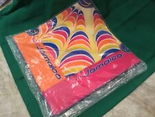 VINTAGE AIR JAMAICA SCARF,  NEW IN PACKAGE