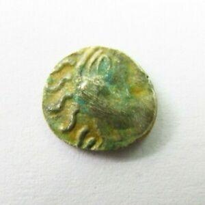 Ancient Celtic Abrincatui Silver Quarter Stater circa 65 BC (195)