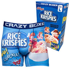 Rice Krispies Boxer Briefs in Cereal Box Blue