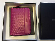 Filofax Adelphi small zipped purse Magenta