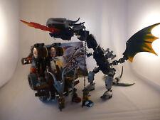 Lego Vikings. 7021 Double Catapult versus the Armoured Ofnir Dragon