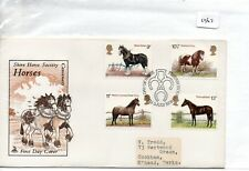 GB - FIRST DAY COVER - FDC - (1967) SPECIALS - 1978 - Horses - pmk Peterborough