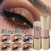 Waterproof Metals Eyeshadow Glitter Glow Liquid Metallic Eye Shadow Eyeliner UK