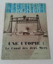 JDN SCIENCE ET MONDE n°110 - cheval de selle tuberculose 22/6/1933