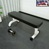 Power Bench Weight Bench Sit Up Flat Crunch Board Abdominal Fitness Workout Gym
